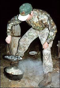 Dutch ovens are a great way to cook while camping.
